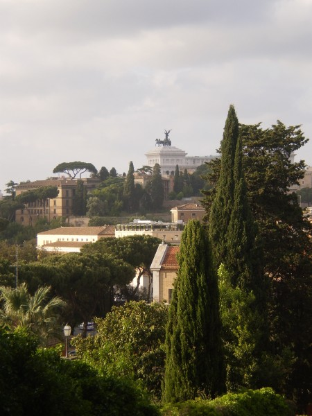 rome - view from aventine