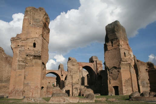 ruins baths of caracalla